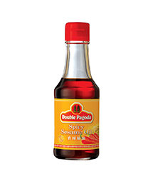 DOUBLE PAGODA SPICY SESAME OIL 150ML
